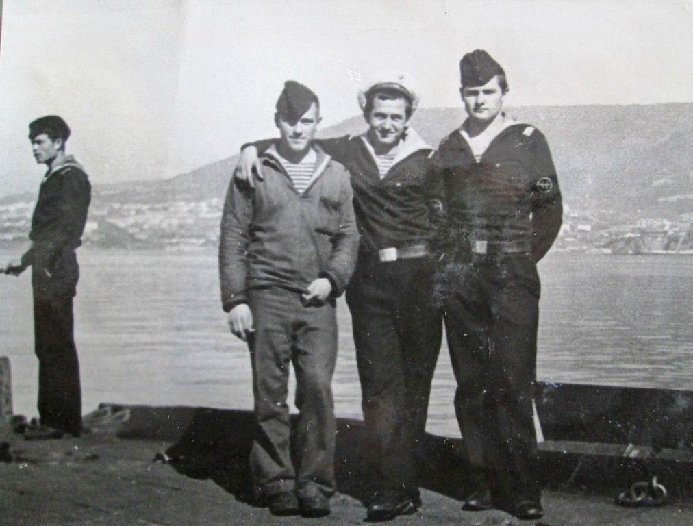 Экипаж С-286. Октябрь 1973 год. Петропавловск-Камчатский, бухта Ильичёва.