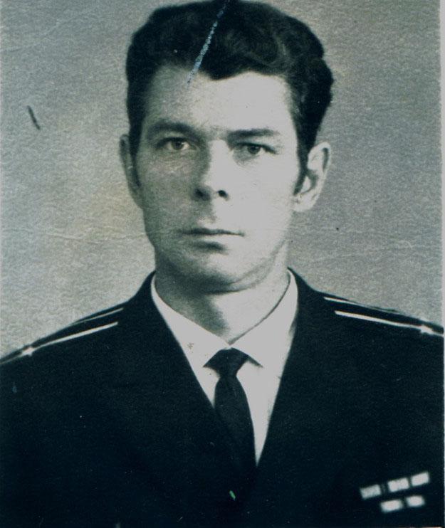 Капитан 2 ранга Волков Юрий Петрович. Командир ПЛ С-286.