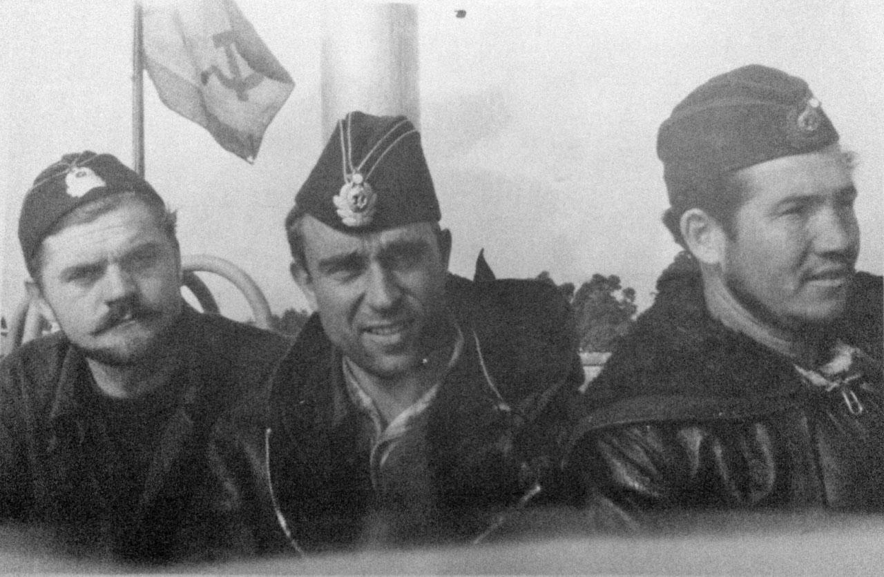 Экипаж С-286. 1972 год.