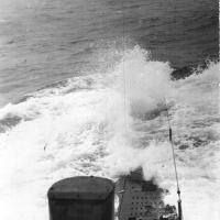 С-288 в Охотском море. Из архива Виктора Ряховского.