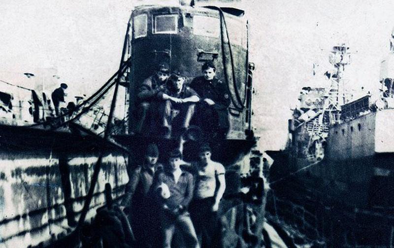 С-288 в доке 1977 год бухта Диамида. Владивосток.