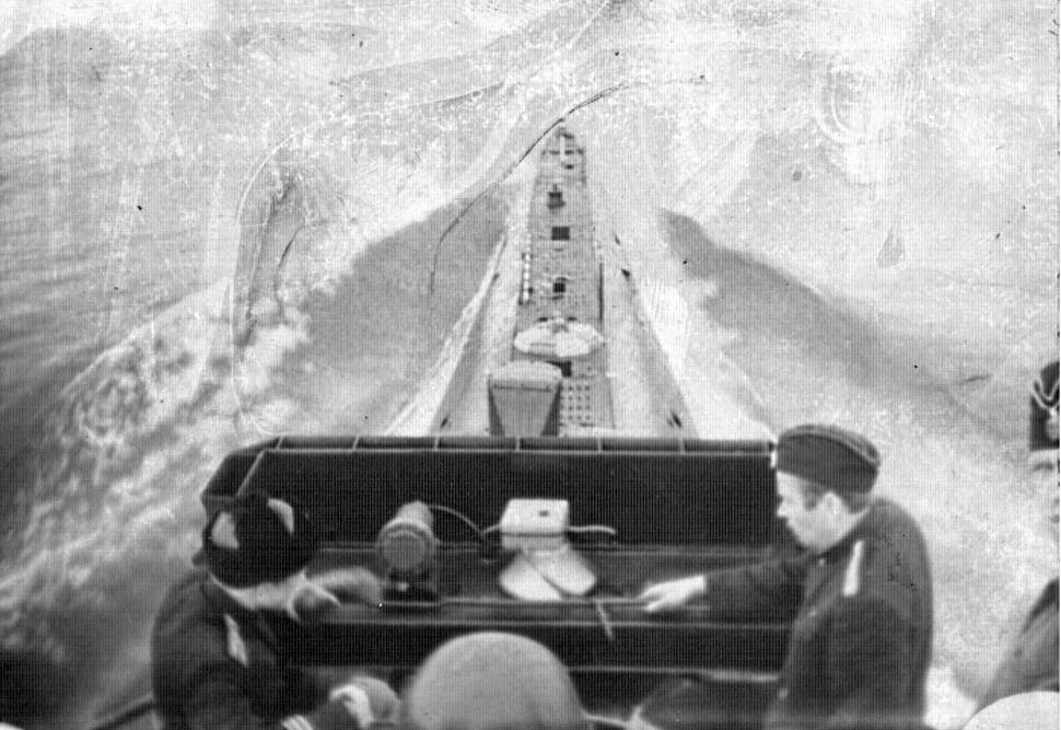 С-288. Охотское море. 1964 год.