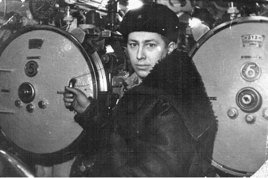С-288. Мичман Ряховский Виктор Иванович. 1967 год.
