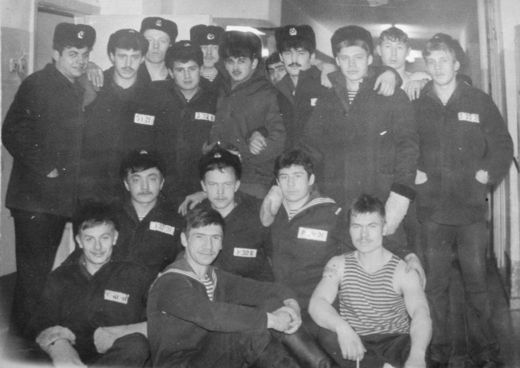 С-327. Экипаж. Декабрь 1986 год