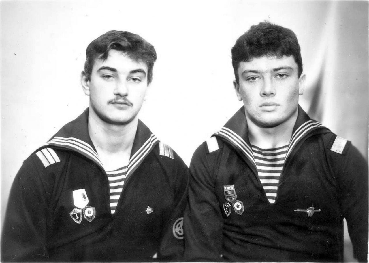 Андрей Гауз и Альберт Ситников