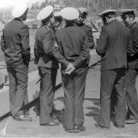Офицеры и мичмана С-359.