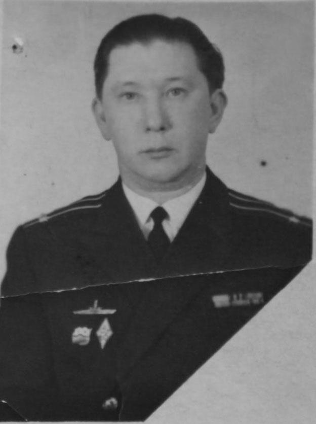 Командир С-365 Богданов