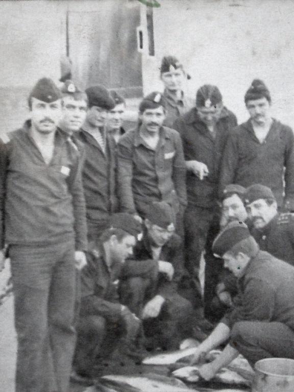 С-365. На якоре в Авачинской бухте. Июль или август 1983 года.