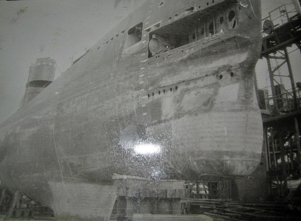С -365. В заводе, Совгавань. 1973 год