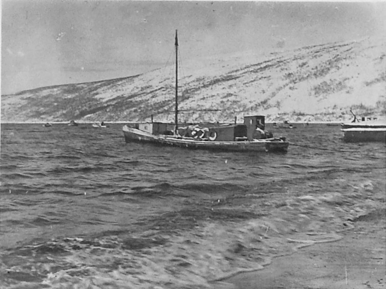 Кавасаки «Тайгонос» в бухте Нагаева. 1932 год.