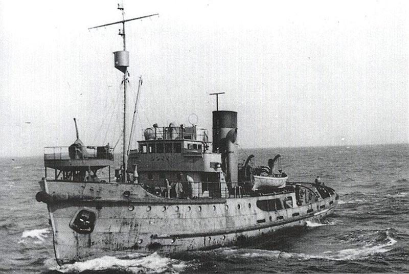 NT-59 «Polangen» принимал активное участие в противолодочной борьбе в Финском заливе в составе ВМФ Германии.