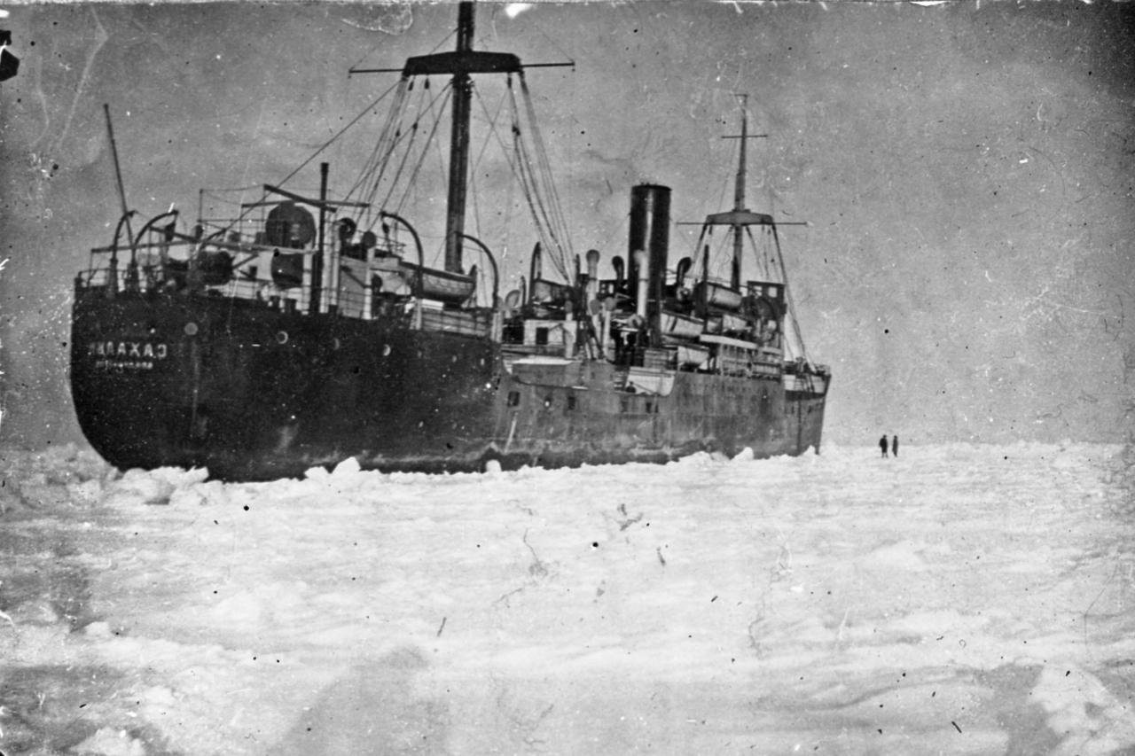 Пароход «Сахалин». Январь 1932 года.