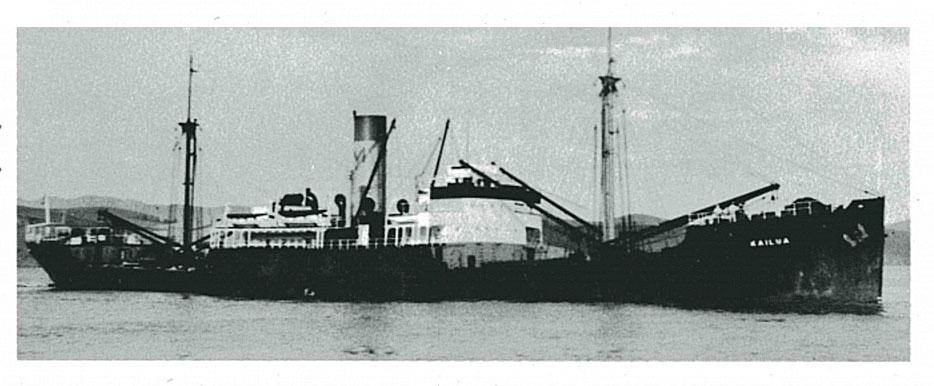 Пароход «Kailua», после передачи СССР по ленд-лизу - «Выборг».