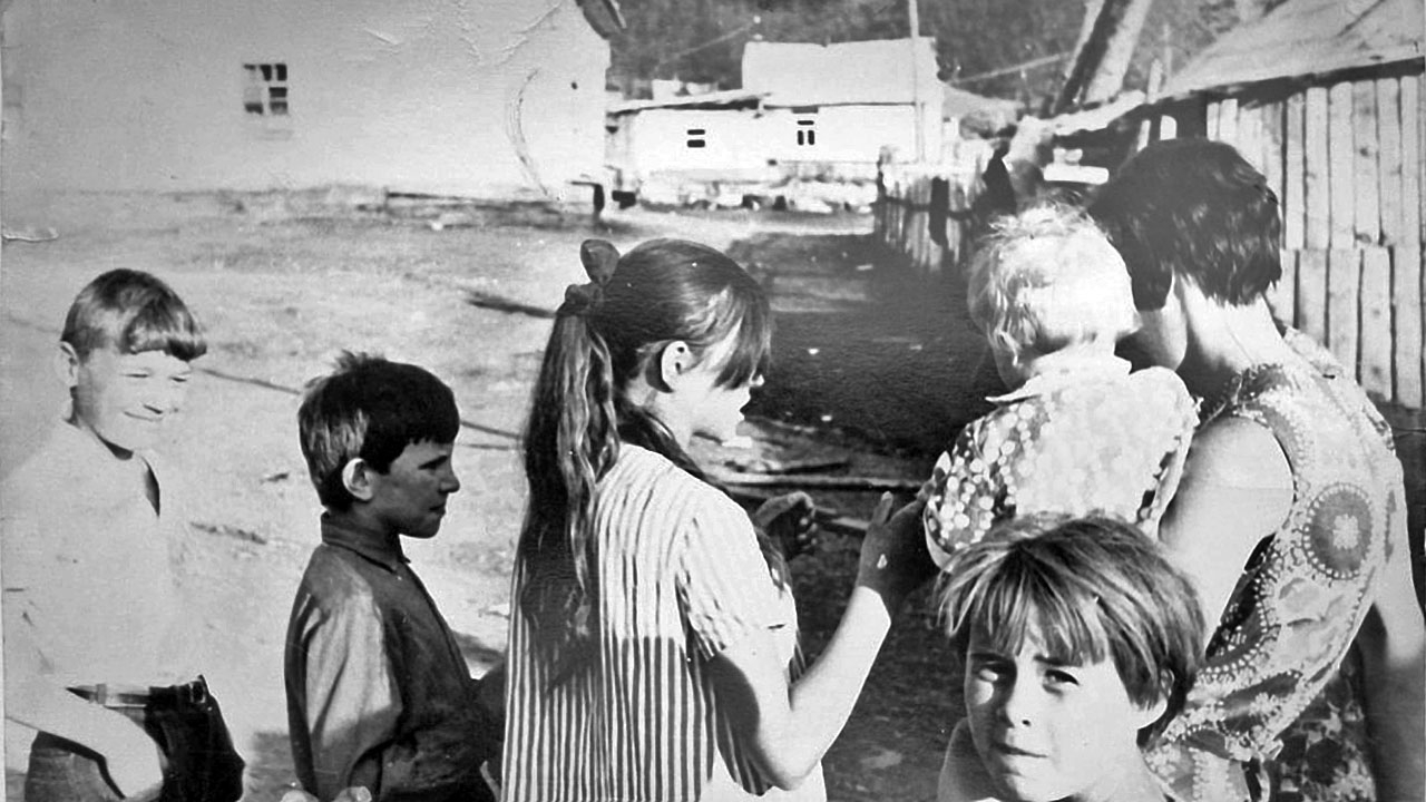 Посёлок Топографический. Жители посёлка.