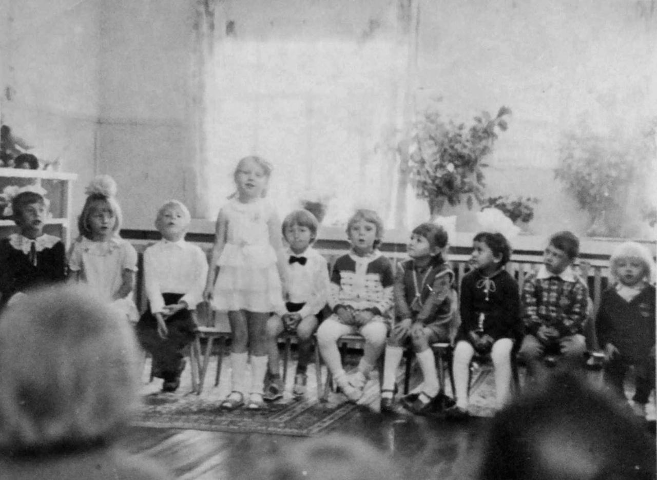 В детском саду посёлка Горняцкий. Фото от Юлии Ильиной.