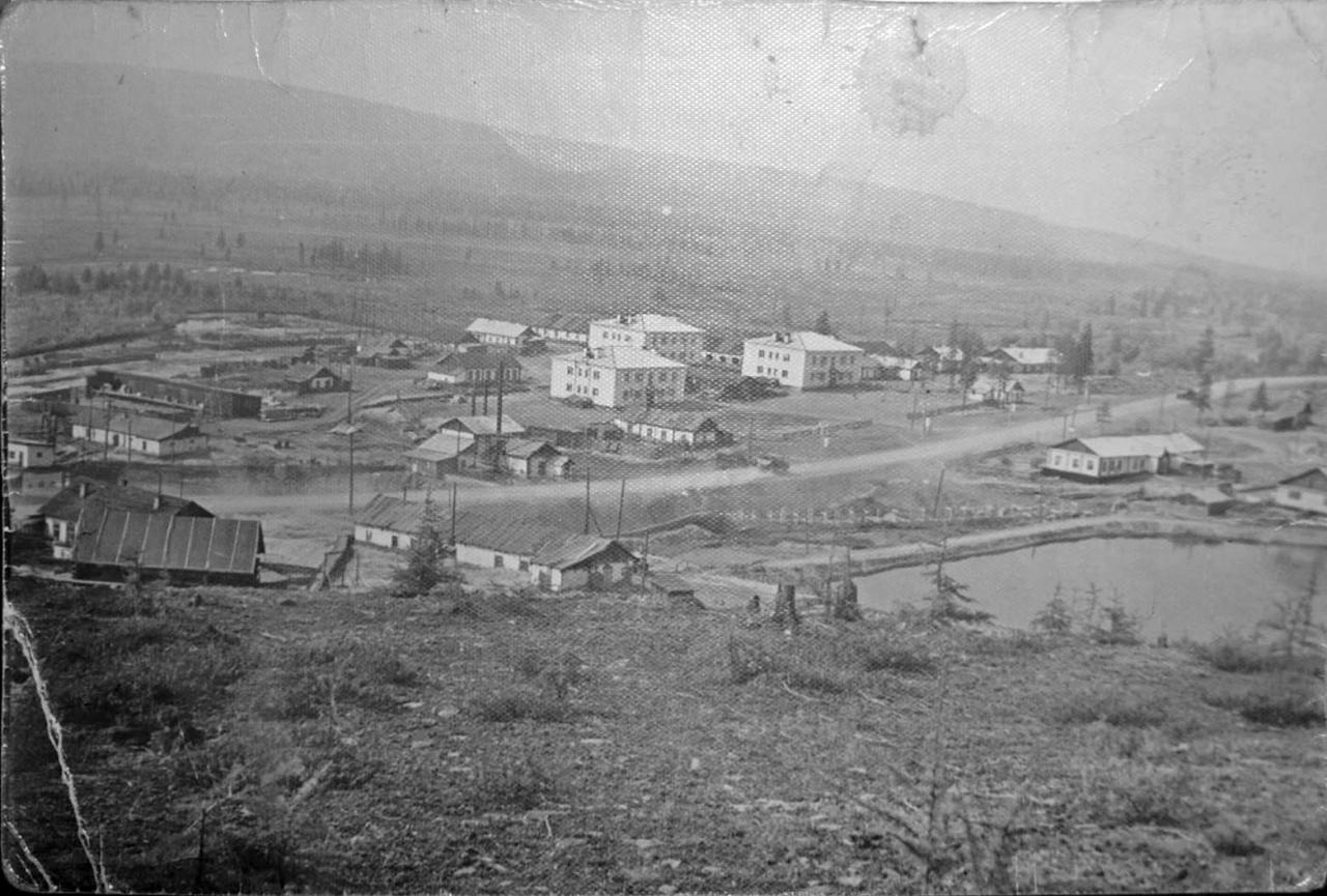 Посёлок Каменистый, Сусуманский район. 1965 год.