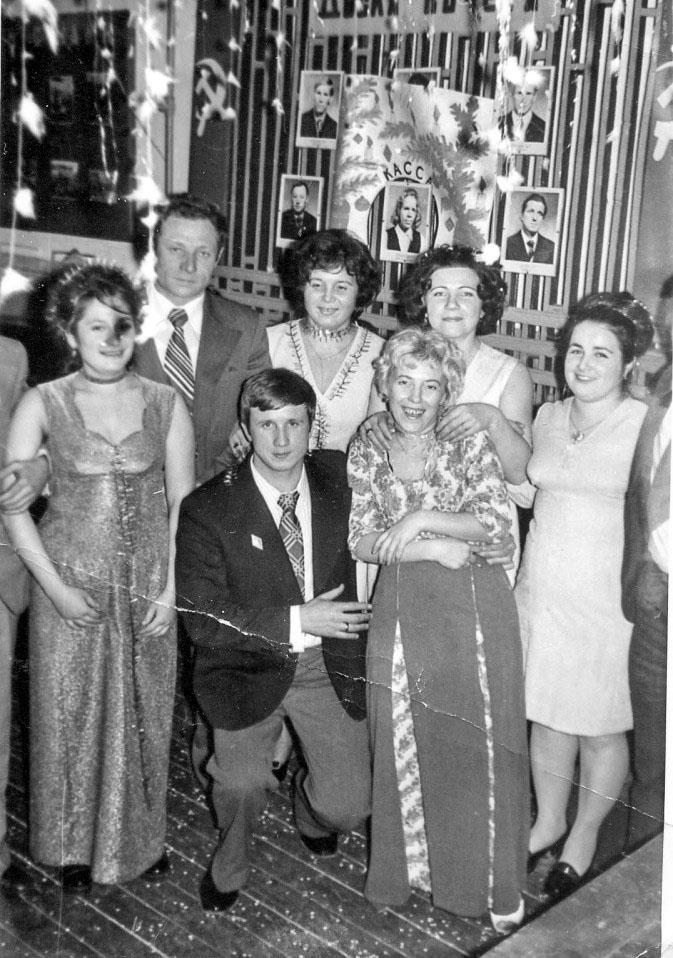 Каменистый. Встреча Нового года в клубе. 1981 год.