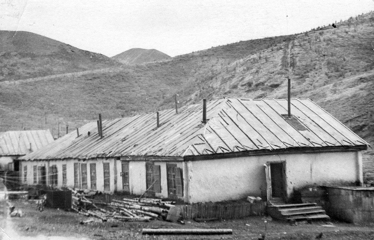 Посёлок Мальдяк. Начало 50-х годов ХХ-го века.
