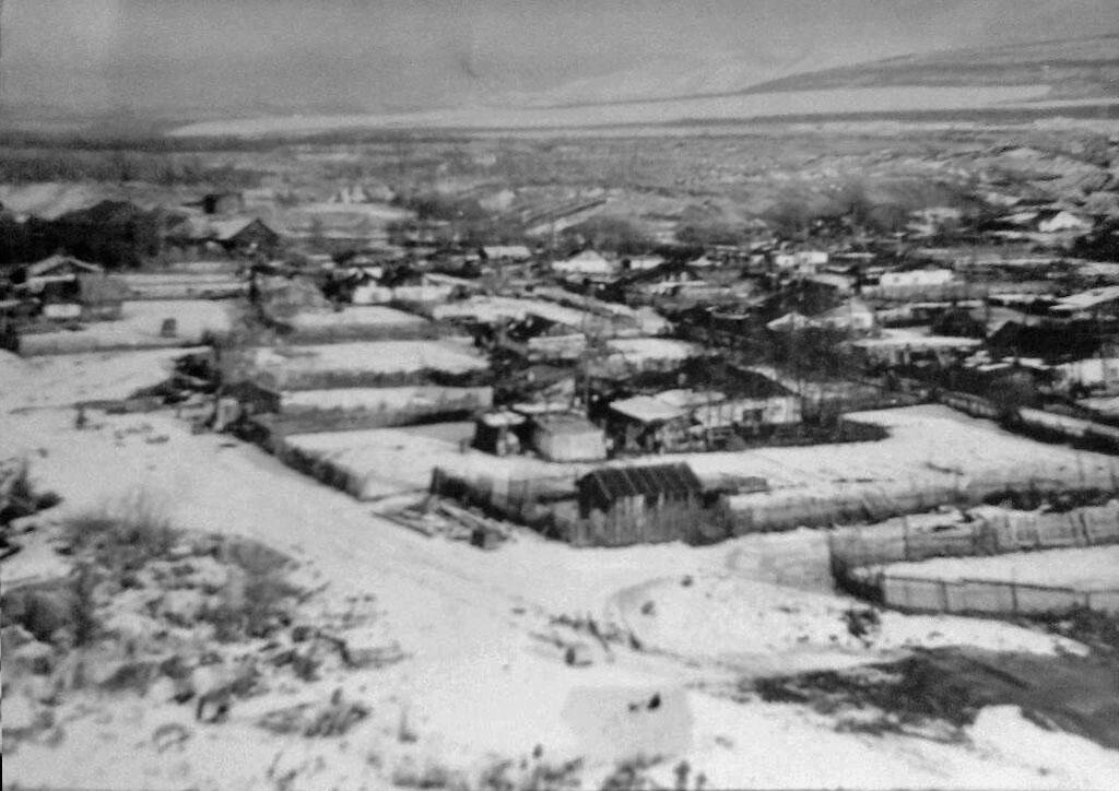 Посёлок Центральный (частный сектор). 1979 год.