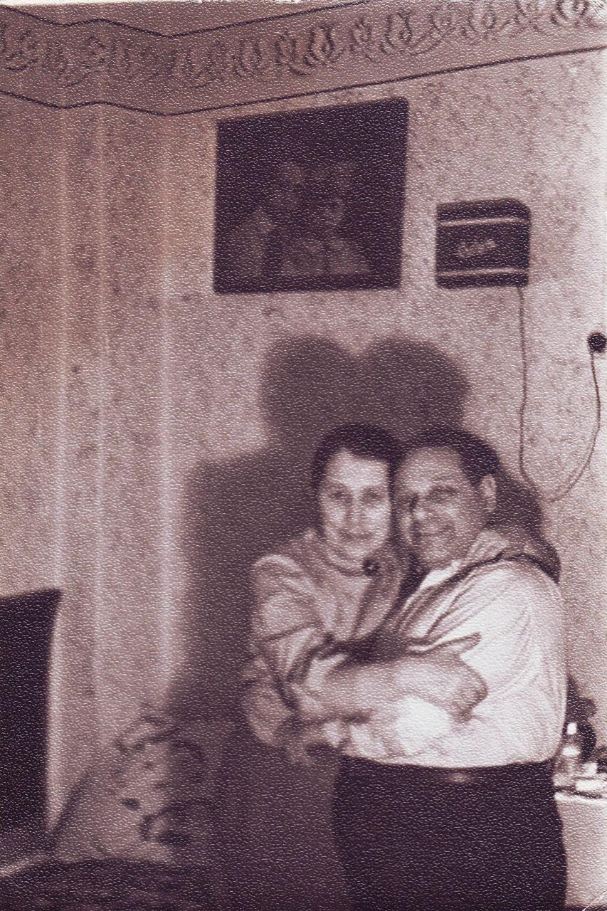 Семья Арш. 1959-1960 годы.