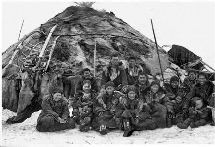 Оленеводы. 1941 год