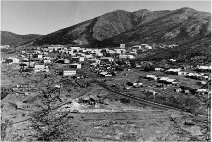 Поселок рудника имени Матросова. 80-е годы ХХ века
