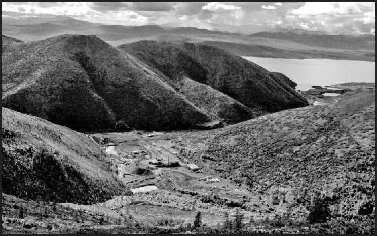 Центральная часть рудника Ветренский. 2007