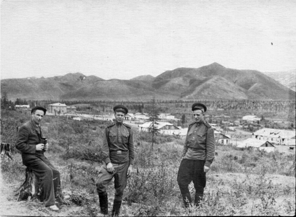 Нижний Бутугычаг, 1955 год. Из архива Леонида Морозика.