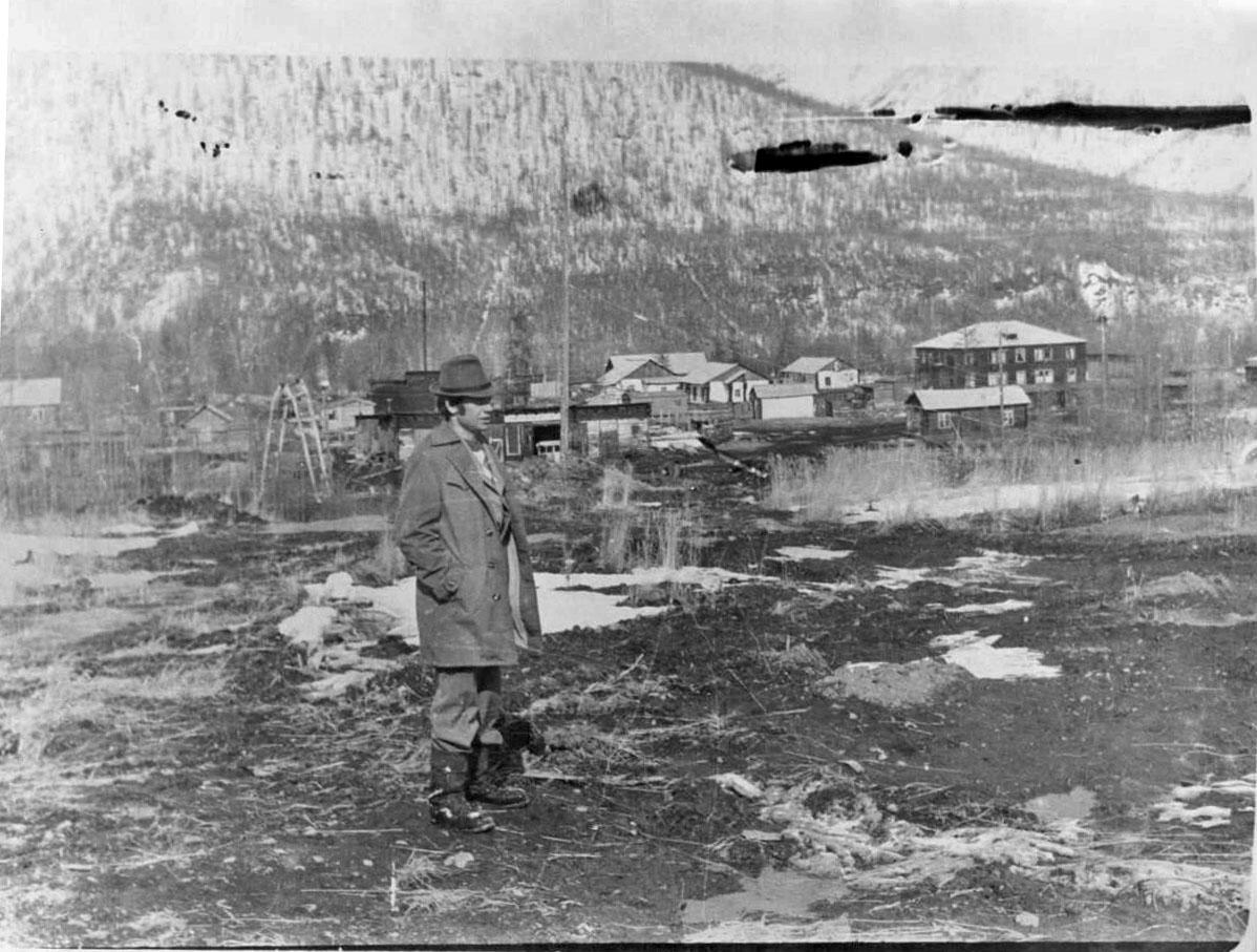Посёлок Дачный (Юбилейный). 1980 год.