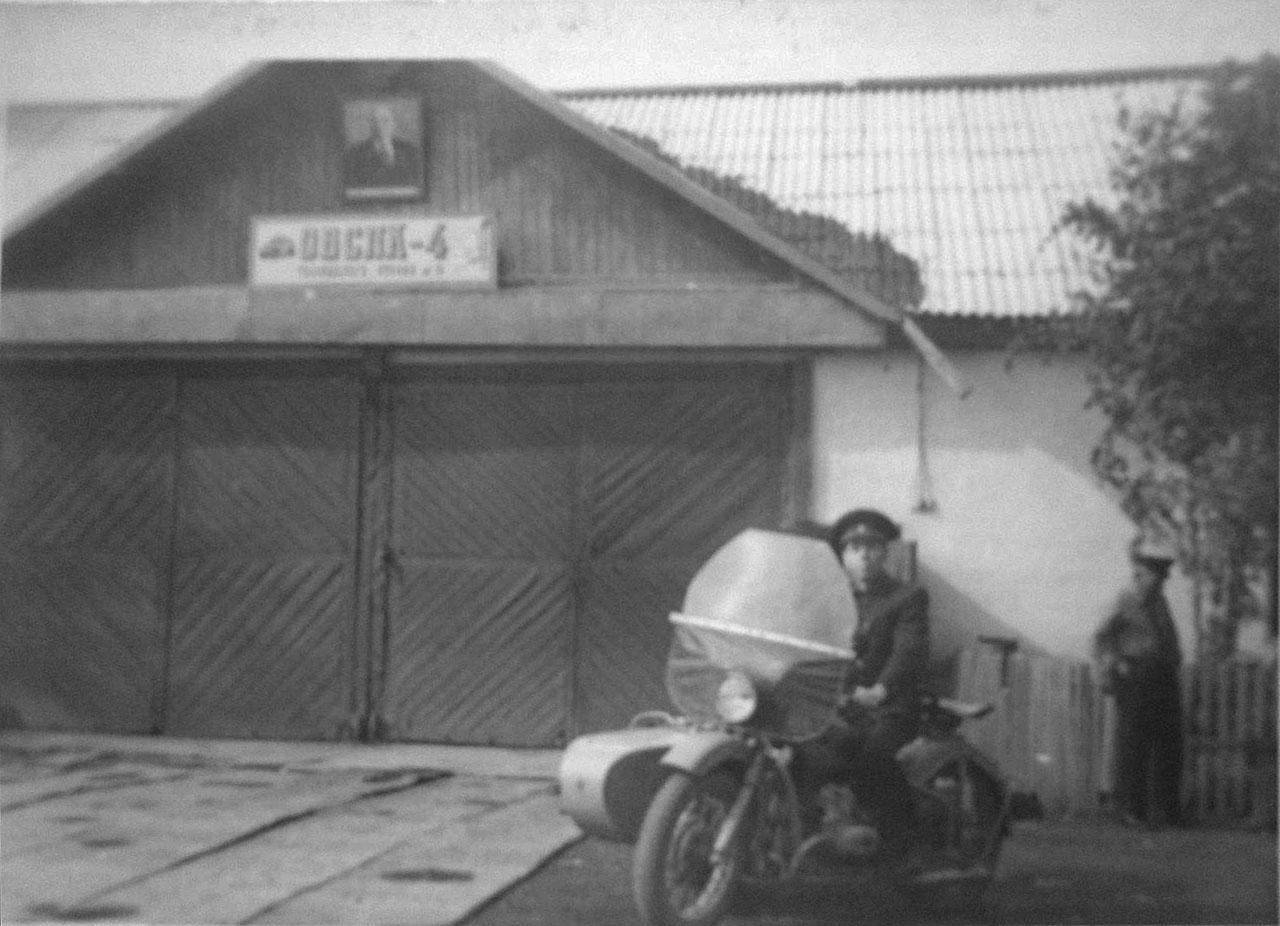 Пожарная часть (ОВСПК) посёлка имени Гастелло.