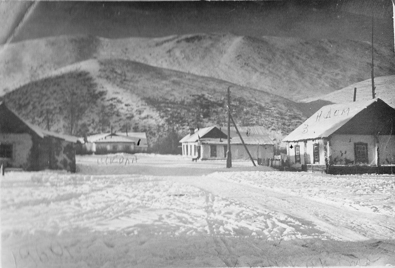 Хениканджа. Посёлок рядом с фабрикой. Из архива семьи Сафоновых.