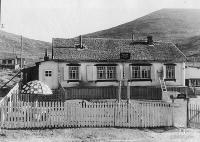 Поселок Матросова. Старый детский сад располагался в конце Нижнего поселка.