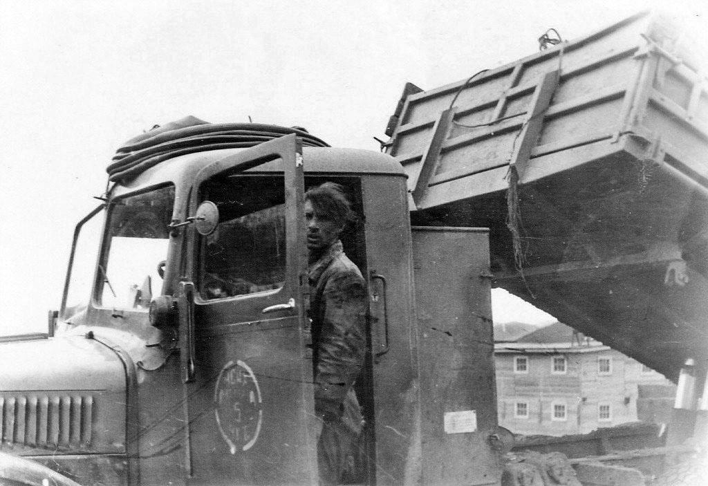«ТАТРы»-11. На таких возили руду после ликвидации канатной дороги до 1965 года.
