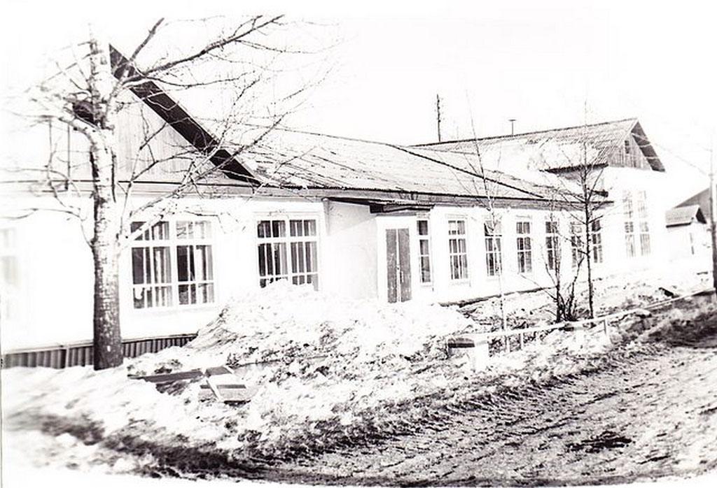 Поселок Нелькоба. Школа.