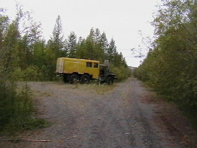 Дорога Нерючи- имени Марины Расковаой, поворот на Хениканджу, до посёлка 12 км.