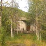 Омчак. Бывший поселковый совет.. Автор фото: Евгения Ильенкова