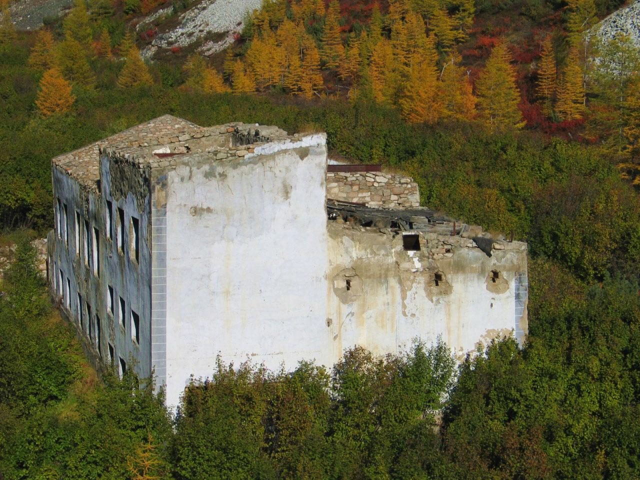 «Гидрометаллургический завод». Фабрика по обогащению урана.