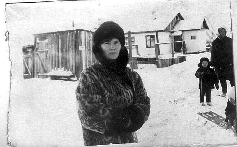 Сибик-Тыэллах. Андреева Тамара, начальник почты в 1967-1969 годах.