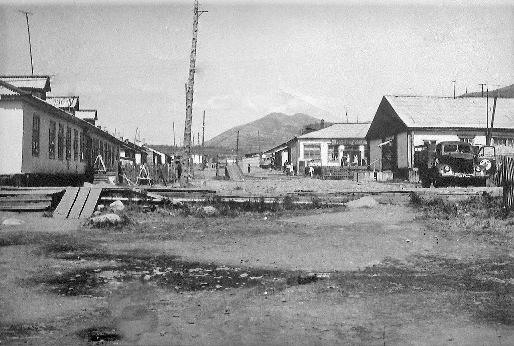 Центр посёлка Сибик Тыэллах.