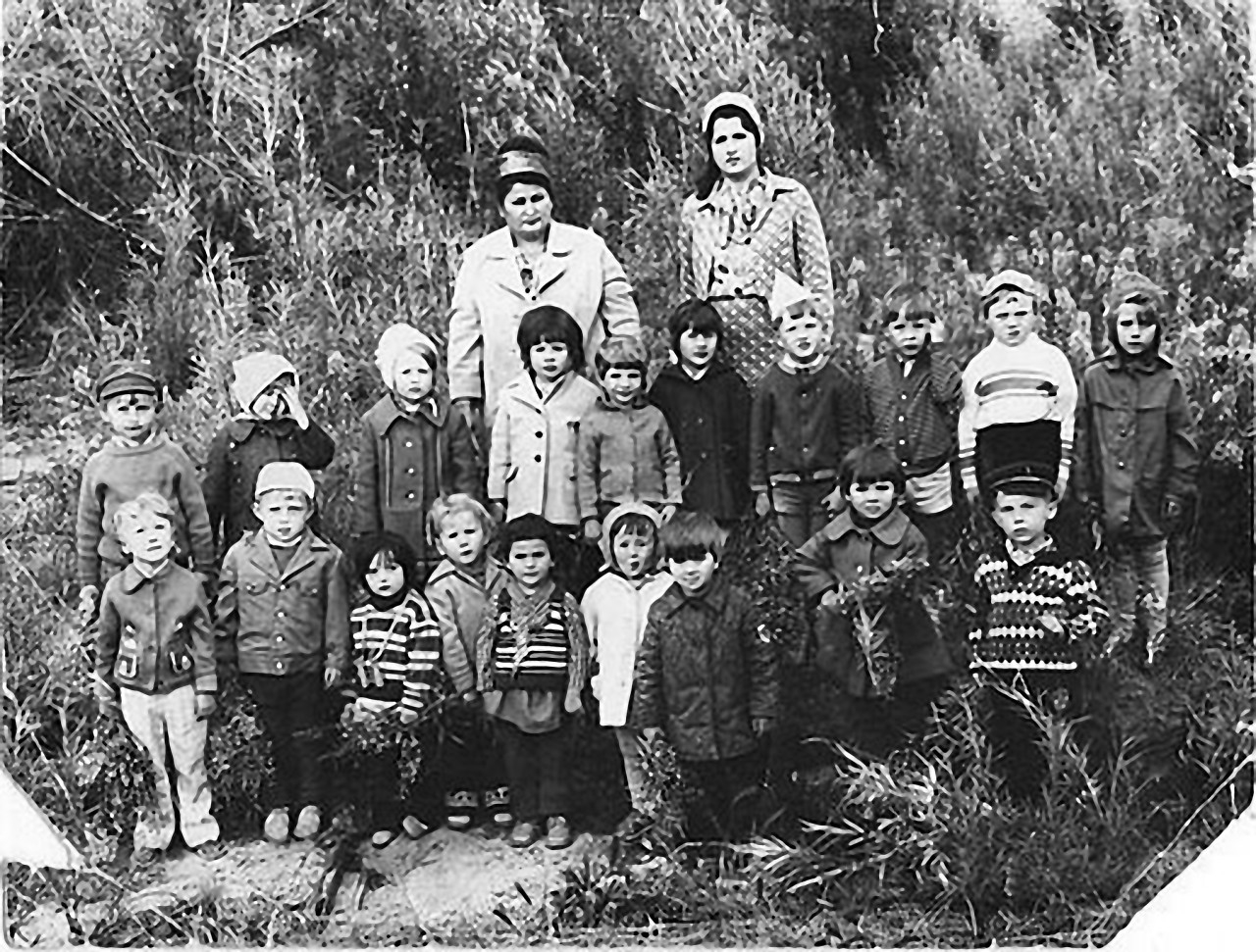 Сибик-Тыэллах. Детский сад на природе.