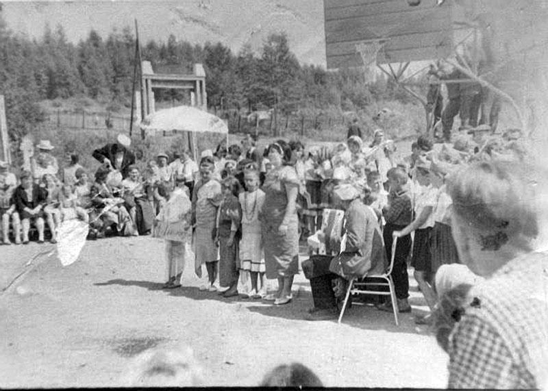 Пионерский лагерь Таёжный.