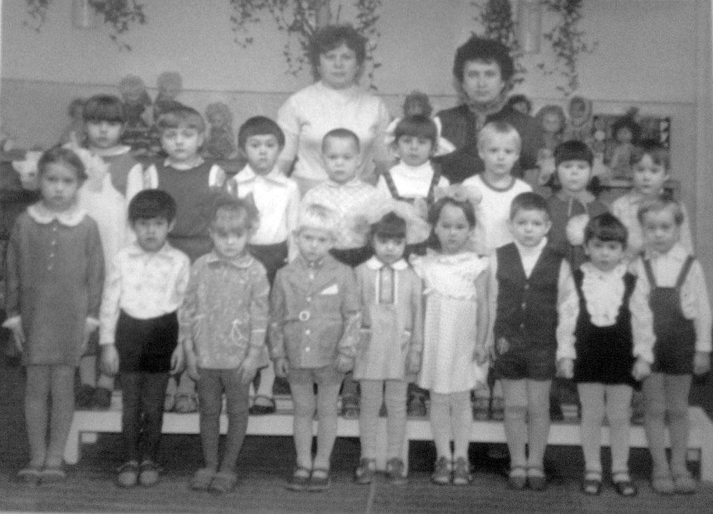 Детский сад поселка Яна.
