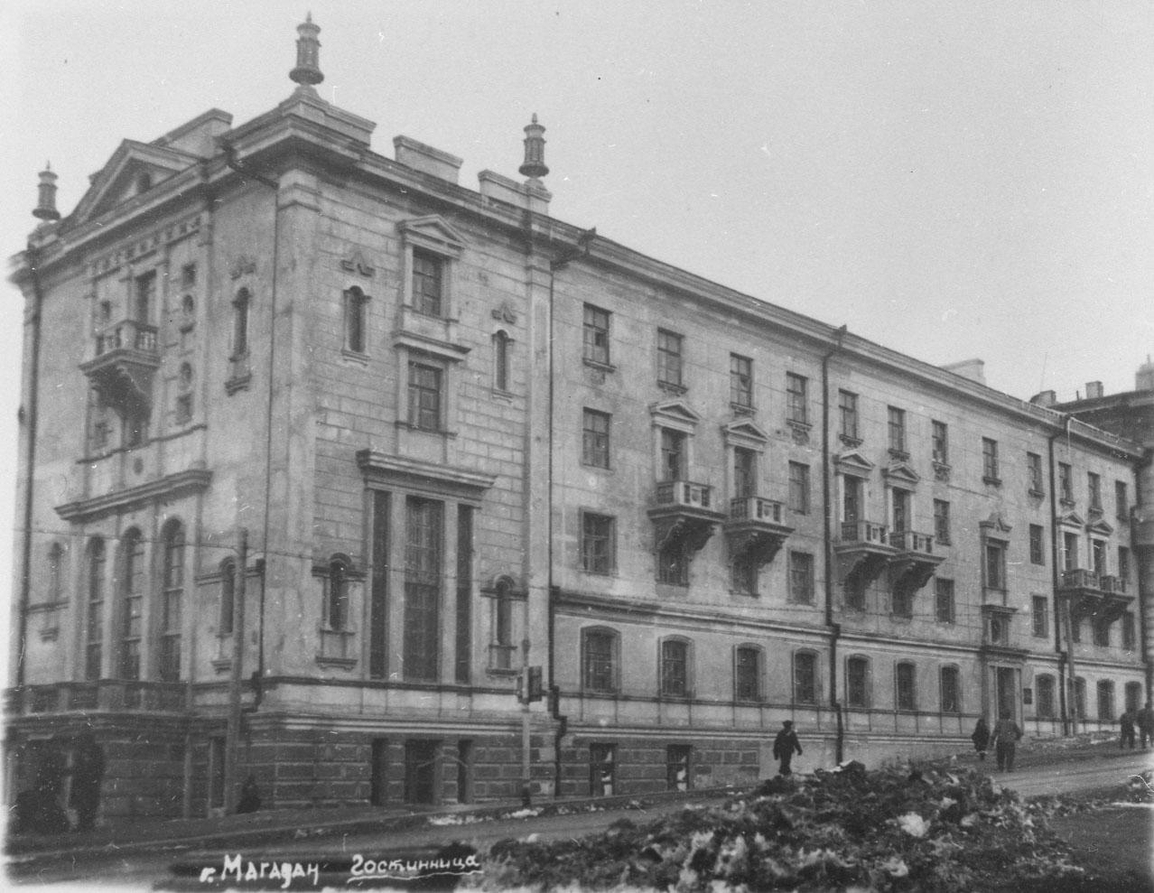 Гостиница «Центральная» (ныне – «ВМ-Центральная», Ленина, 13).