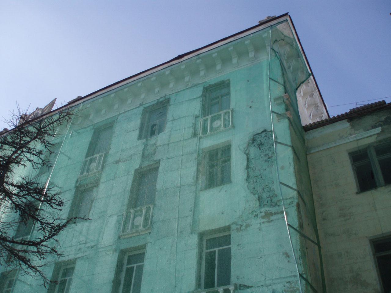 Дома №16 по проспекту Ленина.