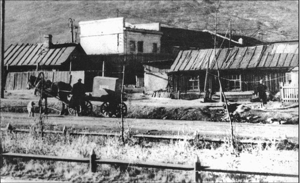 Улица Транспортная, начало 50-х годов ХХ-го века.