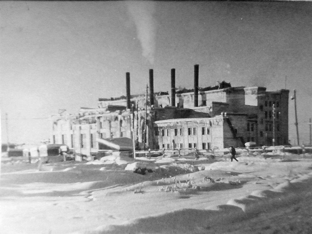 Усть-Тасканская ТЭС, 60-е годы.