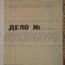 Журнал регистрации актов гражданского состояния от А до Я Ольской Богоявленской церкви за 1895- 1915, 1917, 1919- 1921 годы.