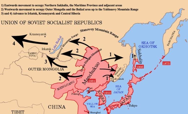 План нападения на СССР «Кантокуэн». «Барбаросса» по-японски.
