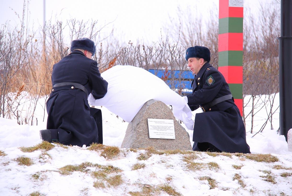 В 2014 году в Магадане был открыт памятный знак, посвященный лыжному переходу пограничников из колымской столицы в Хабаровск.