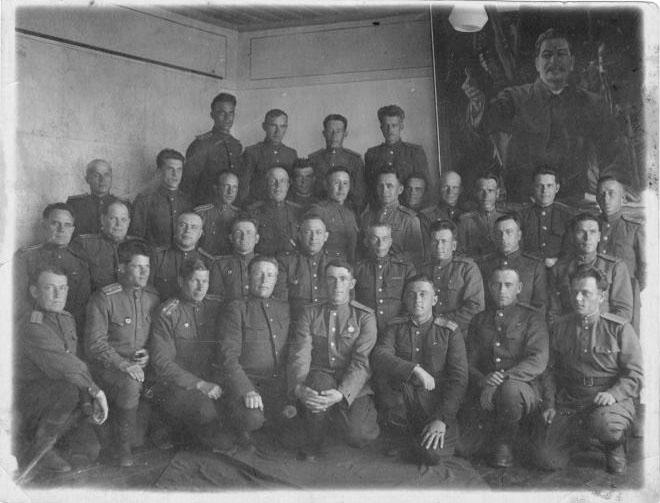 Командный состав 56-го стрелкового корпуса. 6 июня 1945 года.